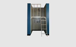 钢结构模拟工程实训楼墙组-带楼层板款