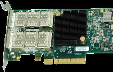 8通道万兆光纤适配器(B-PCIE-SFPP8)