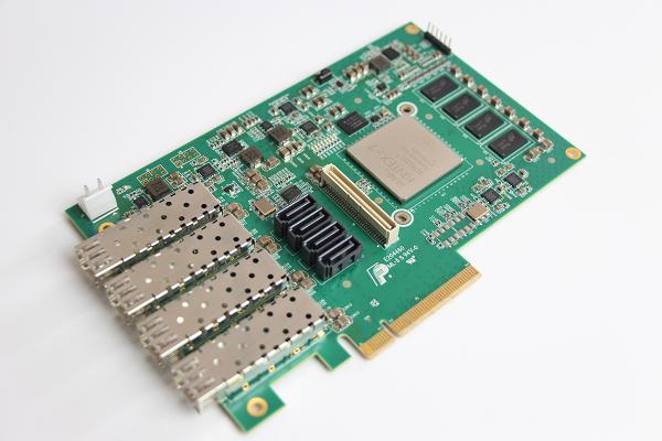 4通道万兆光纤适配器(B-PCIE-SFPP4)