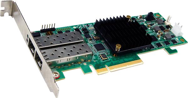 双通道万兆光纤适配器(B-PCIE-SFPP2)