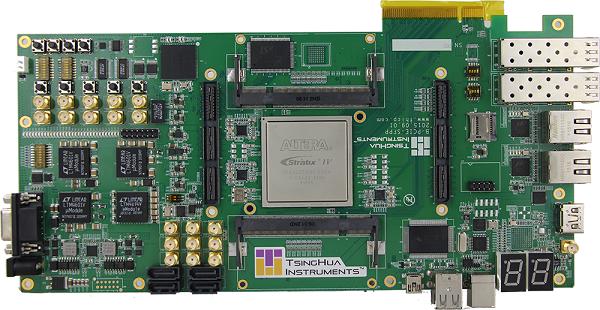 基于Altera EP4GX530的高性能计算加速卡(B-PCIE-4S530)