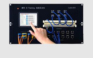 易训Cable 800线缆及光纤性能测试实训仪(触摸式屏)