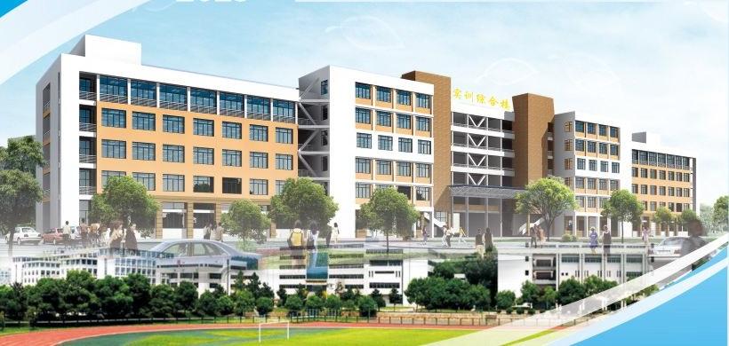 鹿寨职业教育中心清华易训布线实训室正式启用