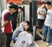 易训智能信息网络布线实训室落户广西质量学校